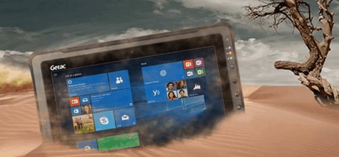 Getac F110 Fully rugged tablet