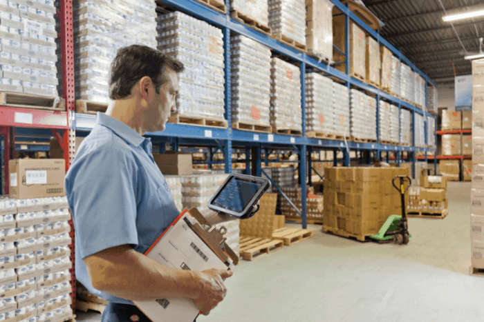 Tablet for warehouse