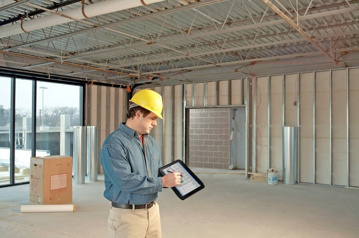 Tablets for construction