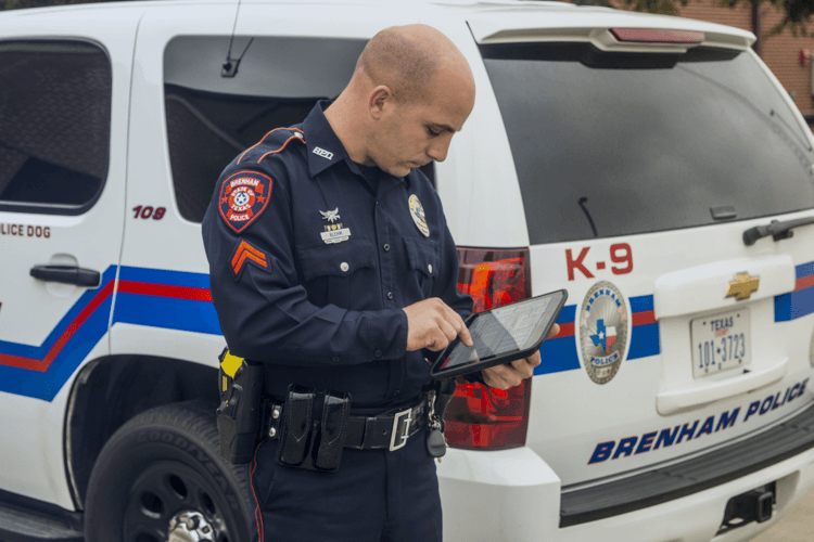 Rugged Tablets Police