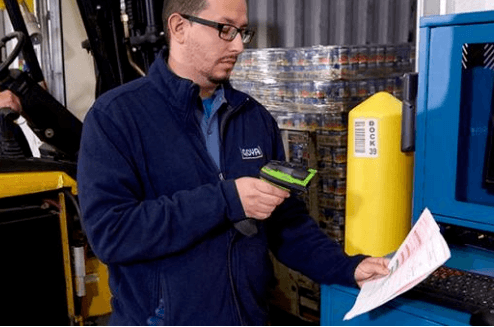 Warehouse receiving scanners