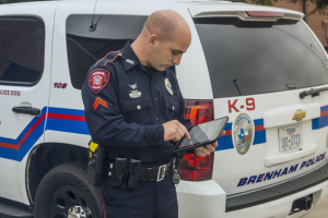 Police Rugged Tablet Zebra R12